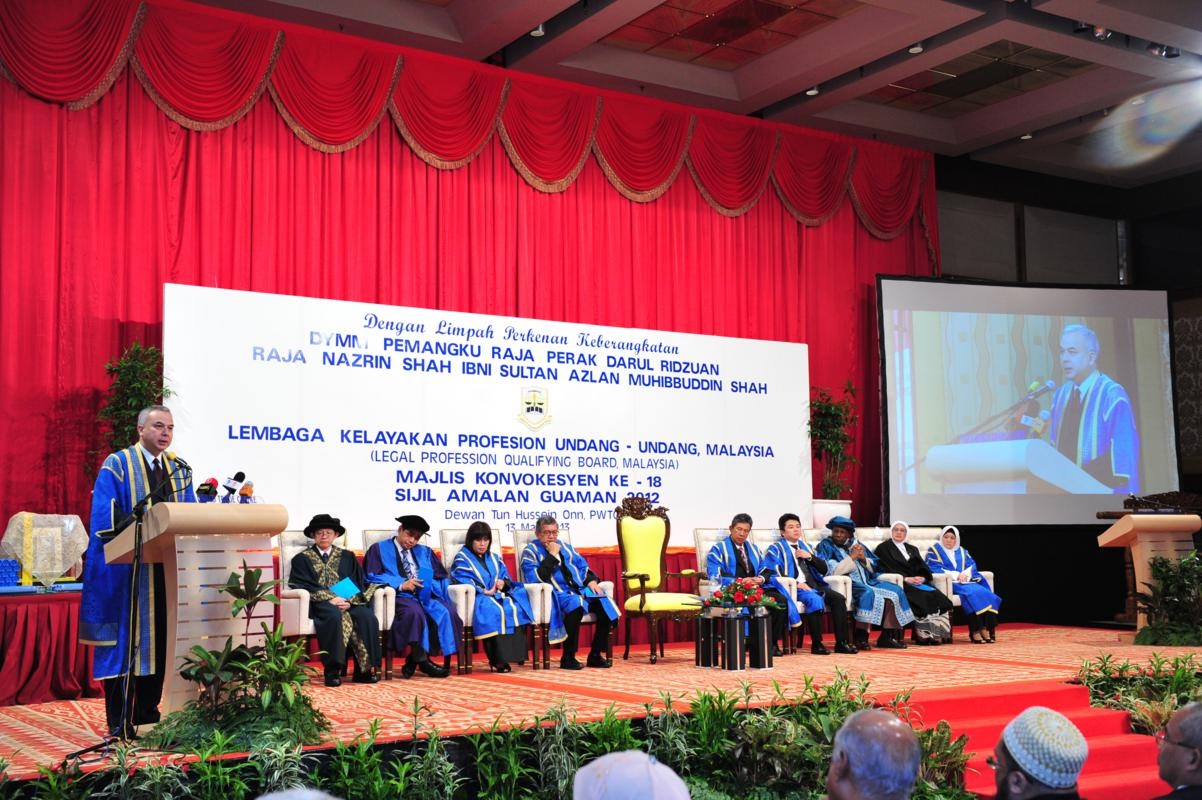 CLP 2011 Convocation Ceremony at Dewan Tun Dr. Ismail, Putra World Trade Centre, Kuala Lumpur on 22 March 2012